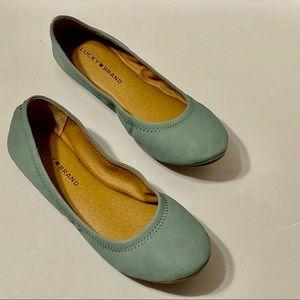 NWOB Lucky Brand Emme/ Ballet Flats size 8M